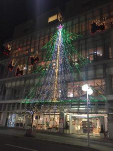 はっちのクリスマスツリー