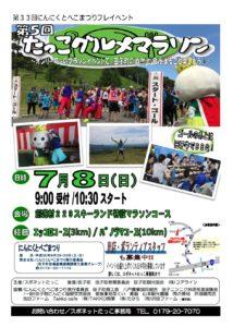 グルメマラソンポスター